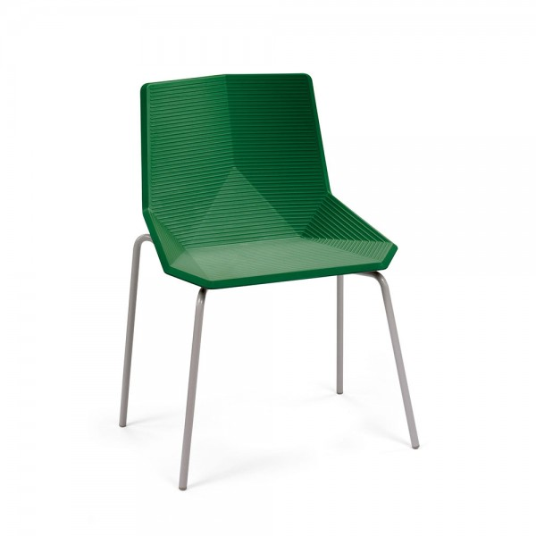 Silla Green colors metal. Mobles 114