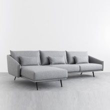 Sofá Chaiselongue Costura. Stua