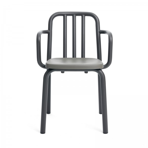 Silla con brazos Tube chair. Mobles 114