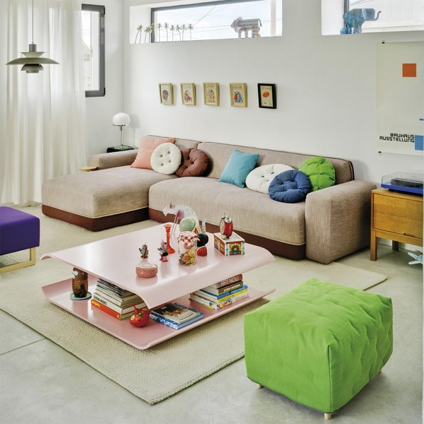 Pouf Folk. Sancal