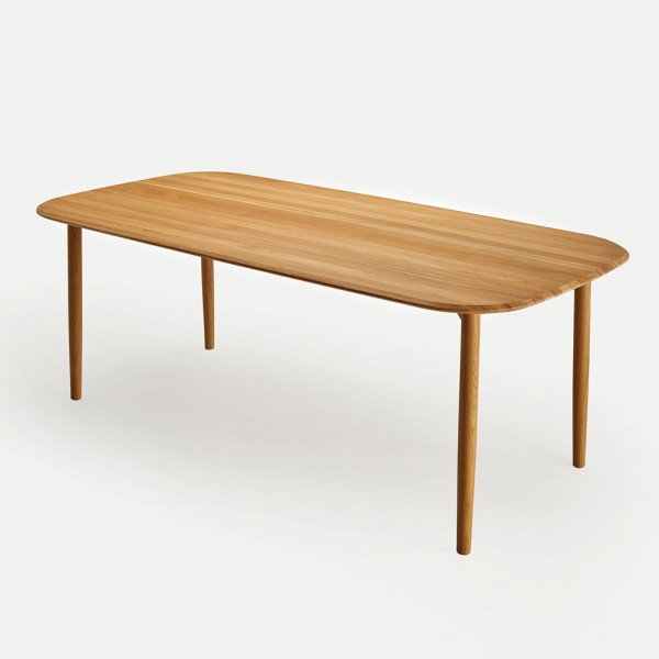 Mesa rectangular Nudo. Sancal