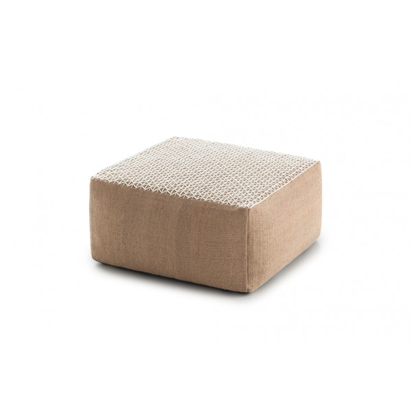 Pouf Raw Small White. GAN
