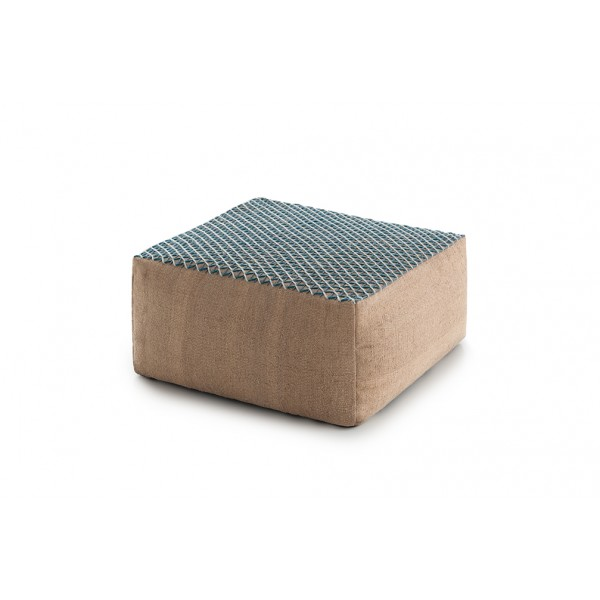 Pouf Raw Small Blue. GAN