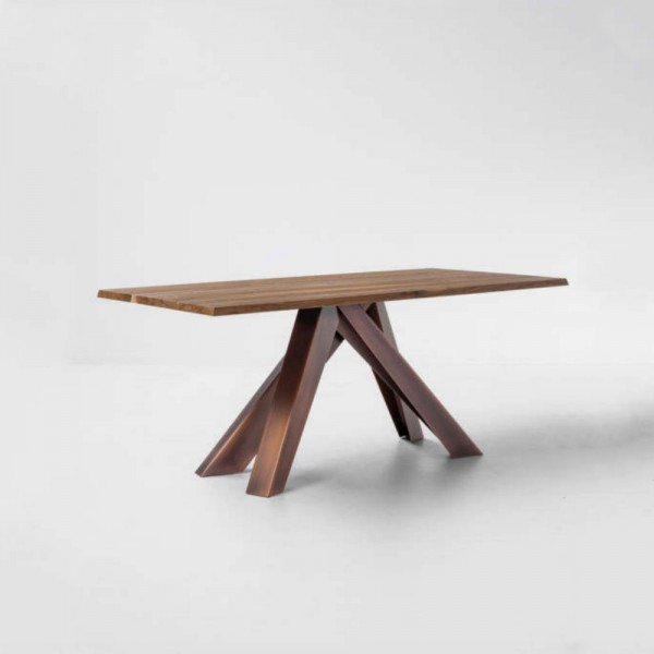 Mesa Big Table T5 fija madera. Bonaldo