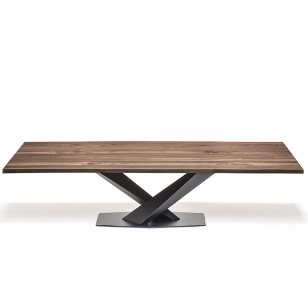 Mesa Stratos Wood A. Cattelan Italia
