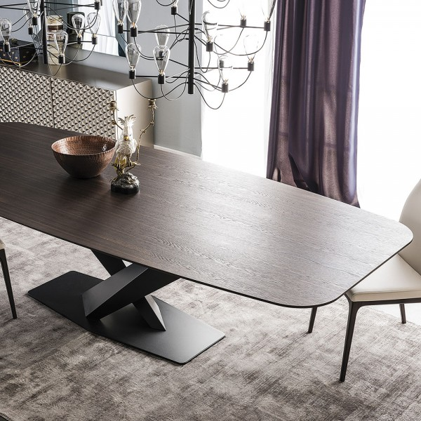 Mesa Stratos Wood B. Cattelan Italia