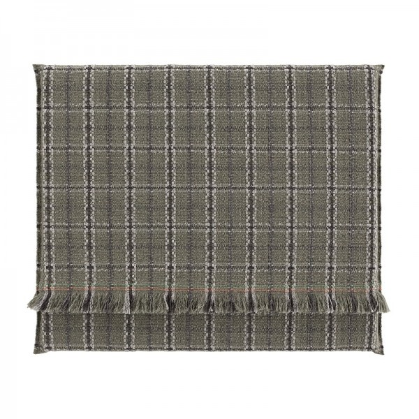Colchoneta Big Garden Layers Tartan green. GAN