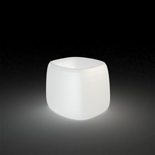 Macetero Organic Cuadrado Light. Vondom