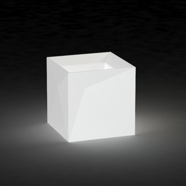 Macetero Faz Cubo Light. Vondom