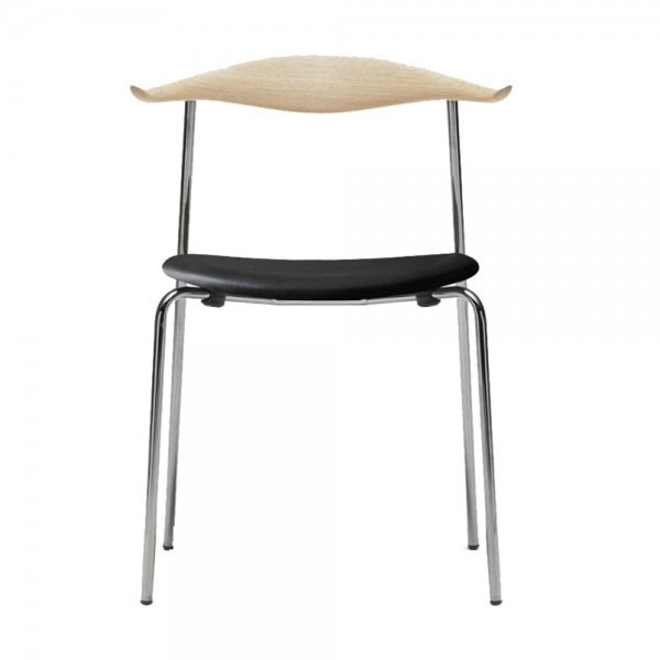 Silla CH88 piel. Carl Hansen and Son