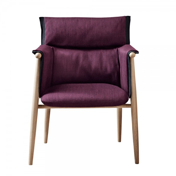 Silla E005 Embrace Chair tela. Carl Hansen and Son