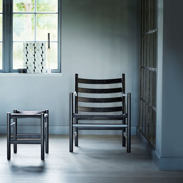Taburete CH53. Carl Hansen and Son