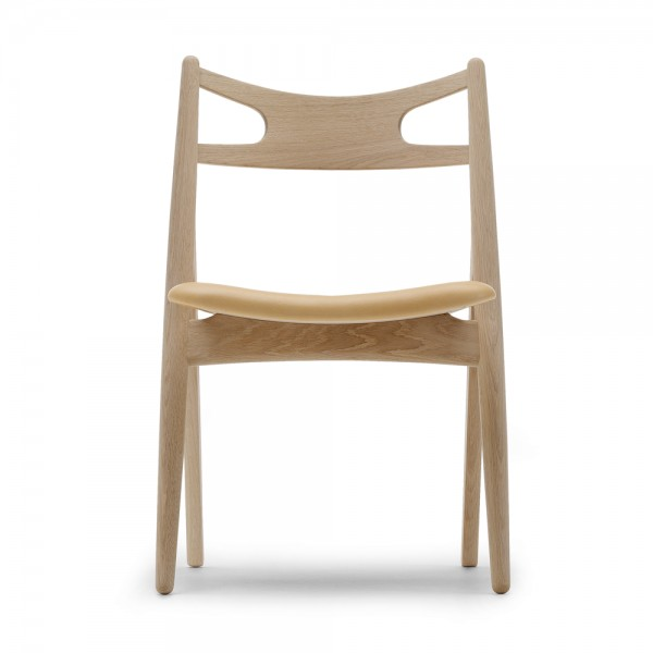 Silla CH29 piel. Carl Hansen and Son