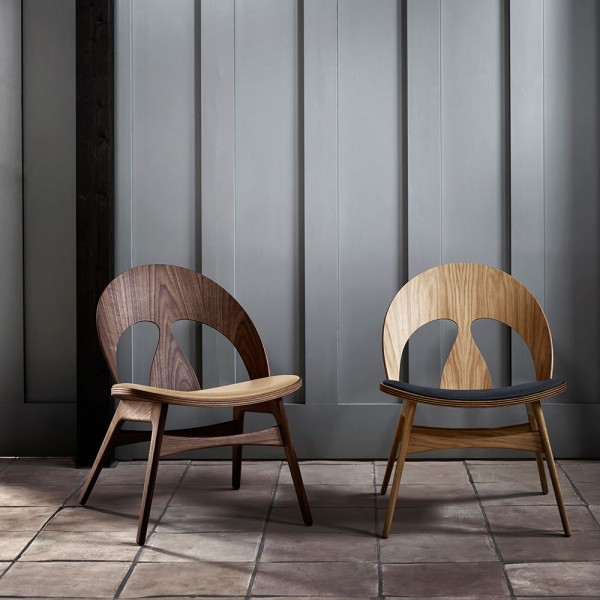 Sillón BM0949P Contour Chair. Carl Hansen and Son