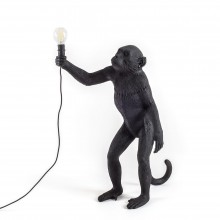 The Monkey Standing black. Seletti