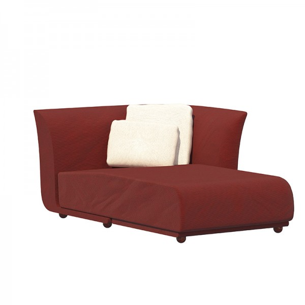 Sofá chaiselongue Suave. Vondom