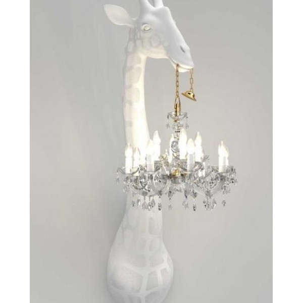 Giraffe in Love Wall Lamp. Qeeboo