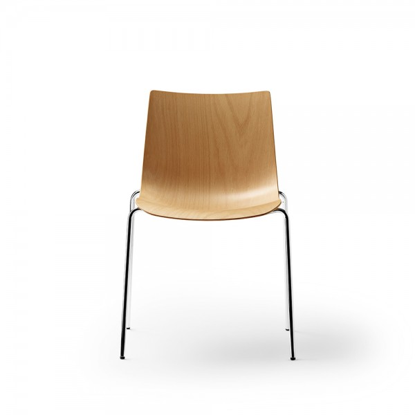 Silla BA002T Preludia 4-Legs. Carl Hansen and Son