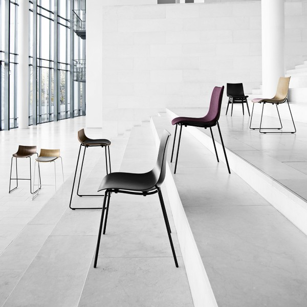 Silla BA002S Preludia 4-Legs. Carl Hansen and Son
