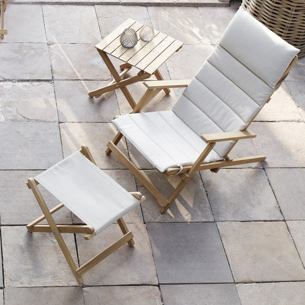 Mesita Deck Chair BM5868. Carl Hansen and Son