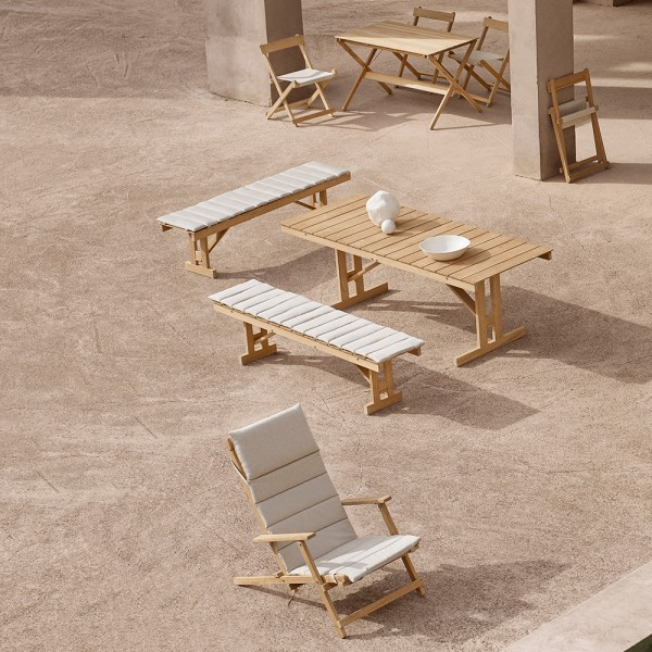 Mesa Deck Chair BM1771. Carl Hansen and Son