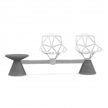 Banco Chair_One Public Seating System1 Magis