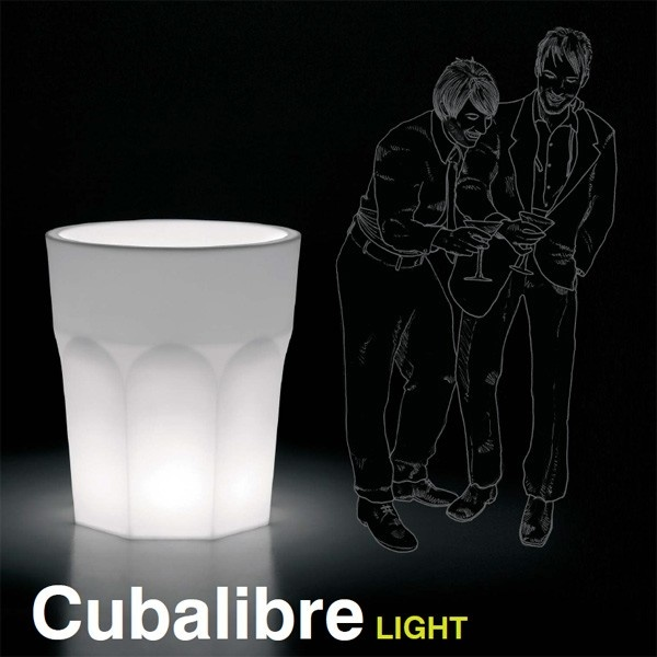 Macetero Cubalibre Light. Plust Collection