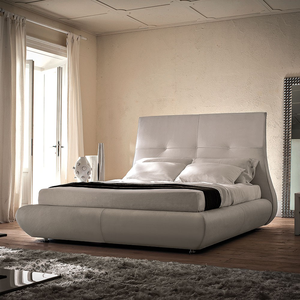 cama matisse de cattelan italia muebles modernos. Black Bedroom Furniture Sets. Home Design Ideas