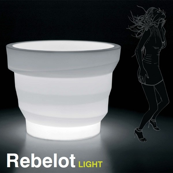 Macetero Rebelot Light. Plust Collection