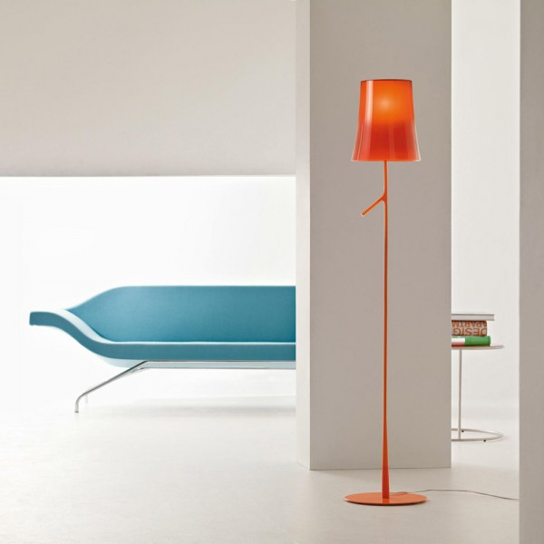 Lámpara pie Birdie. Foscarini