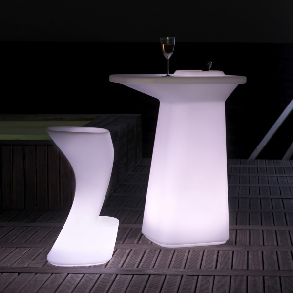 Mesa/Macetero Light Moma High. Vondom