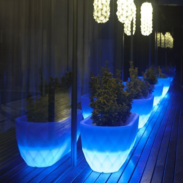 Jardinera Light Vases. Vondom