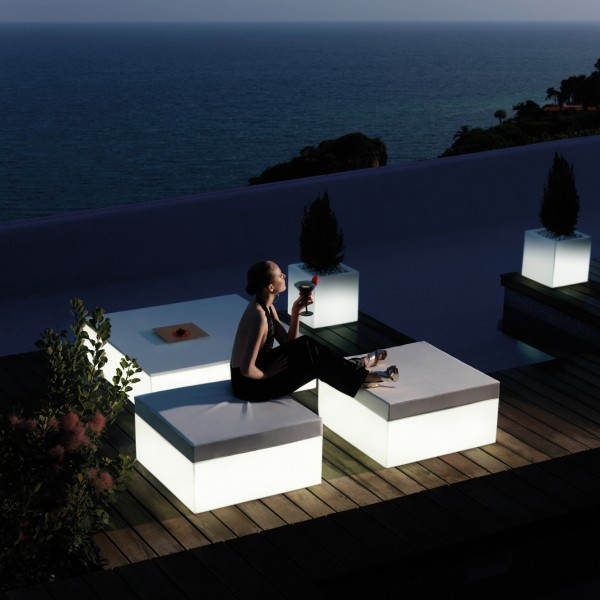 Puff Light Quadrat. Vondom