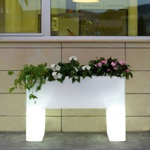 Macetero Light Muro. Vondom