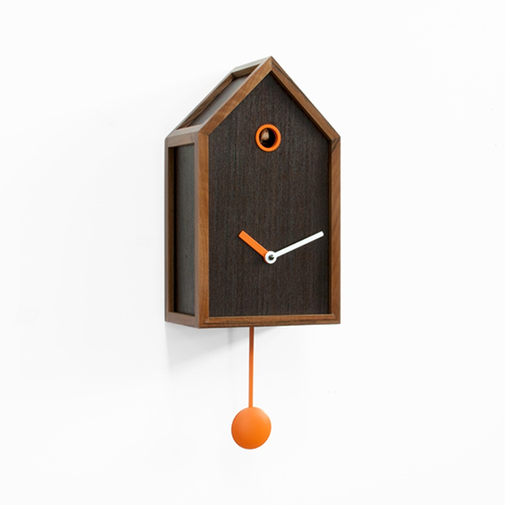 Reloj pared mr orange de progetti relojes de pared y - Reloj diseno pared ...
