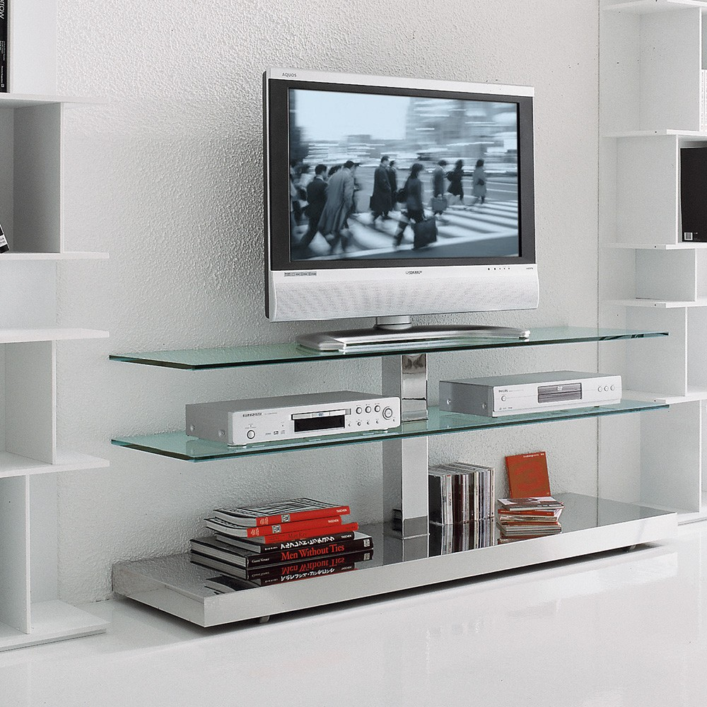Mueble tv play de cattelan italia muebles modernos for Muebles de diseno moderno para tv