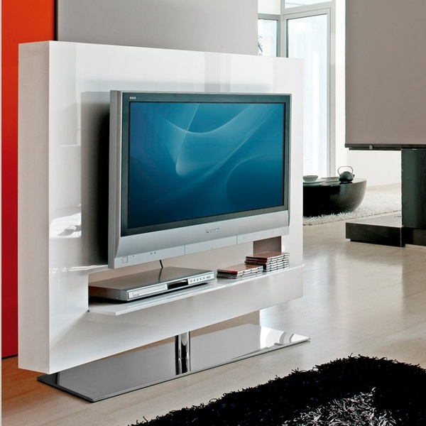 Mueble tv panorama de bonaldo mobiliario de dise o for Mueble television giratorio 08