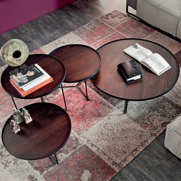 Mesa centro Billy Wood. Cattelan Italia