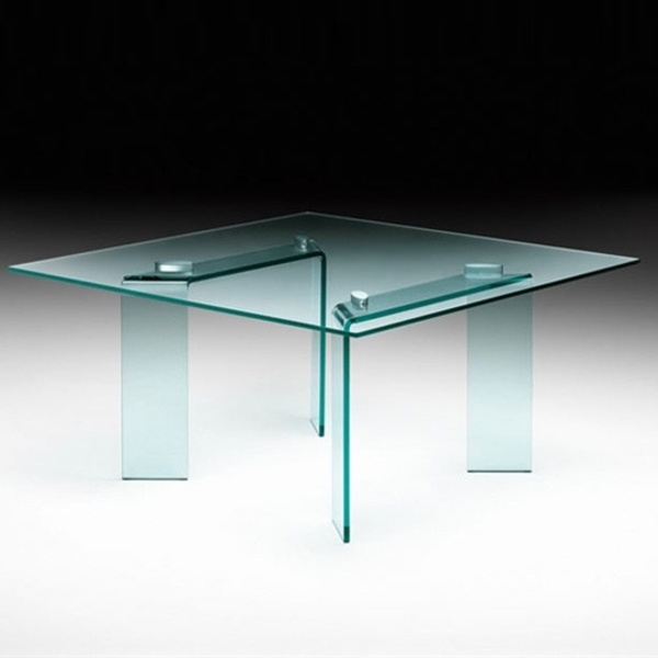 Mesa fija Ray rectangular. Fiam