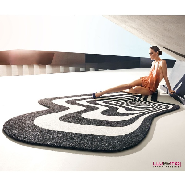 Alfombra exterior Twist and shout. Vondom
