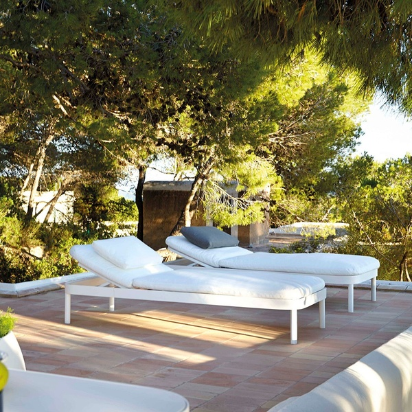 Cama reclinable Tropez. Gandia Blasco