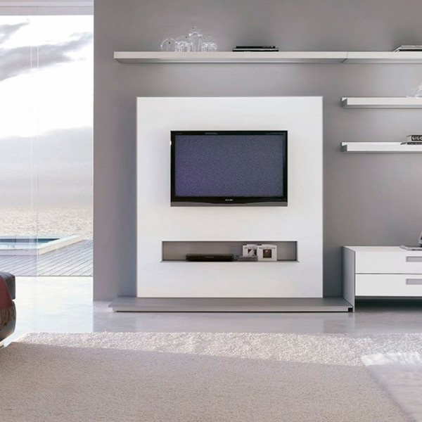 Mueble T.V. Frame base rectangular. Alivar