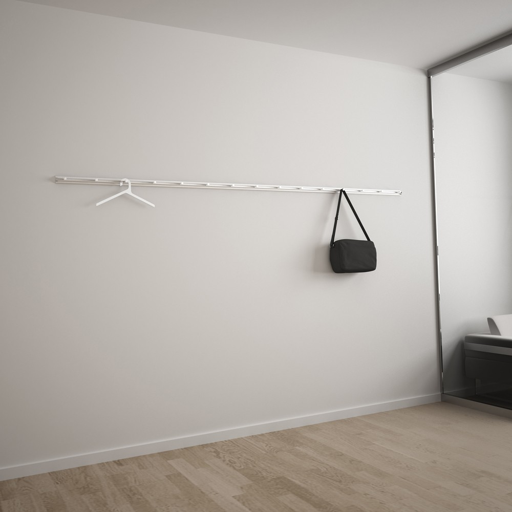 Perchero pared climb systemtronic de muebles oficina - Percheros pared diseno ...