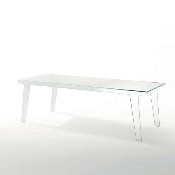 Mesa rectangular Faint. Glas Italia