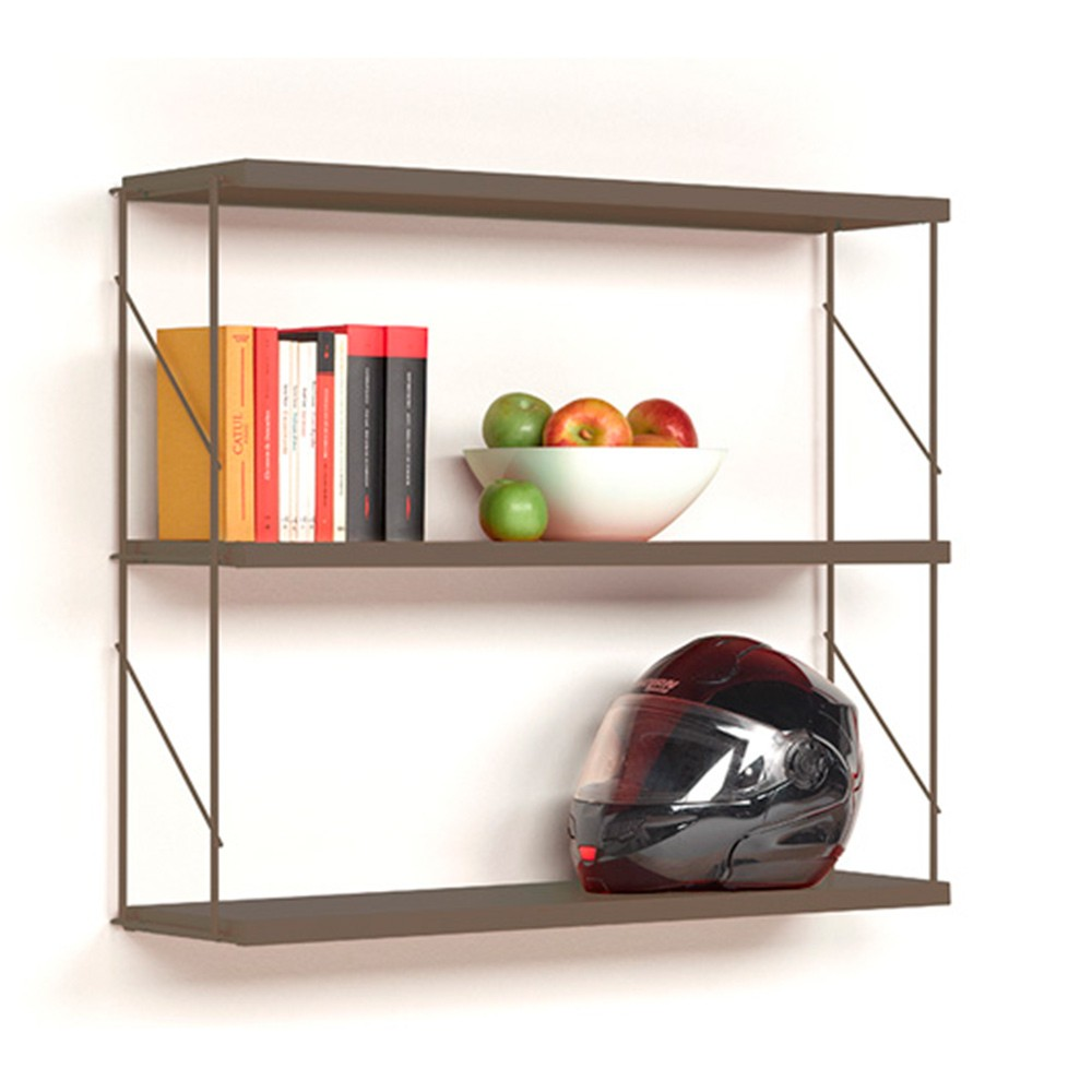 Estanter a tria pack pared de mobles 114 librer a tria - Estanterias diseno pared ...