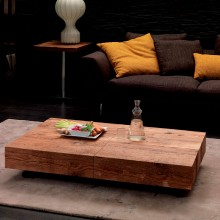 Mesa transformable Box Legno. Ozzio Design