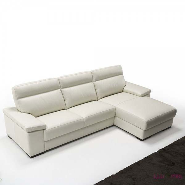 sof merlino 2 plazas chaise longue de polo divani