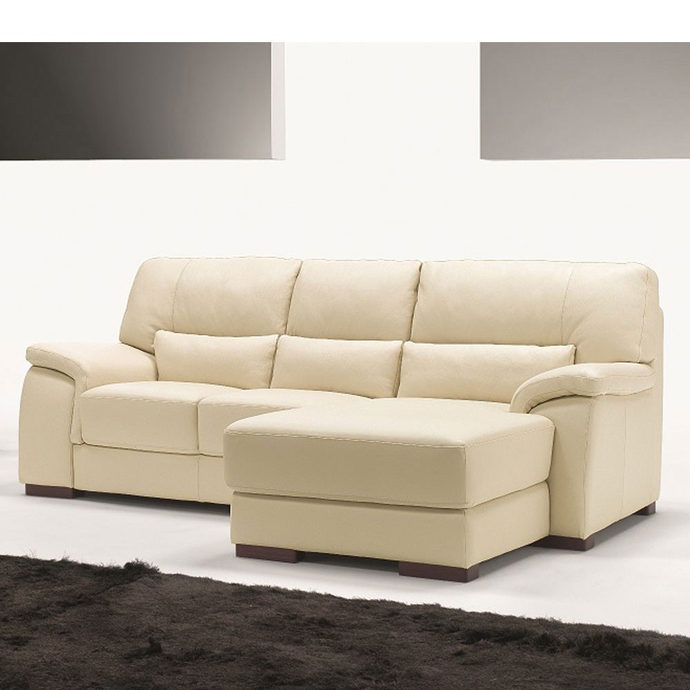 Sof mirto 2 plazas chaise longue de polo divani sof s for Sofa piel chaise longue