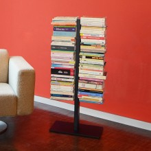 Estantería de pie doble Booksbaum. Radius design