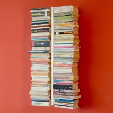Estantería de pared doble Booksbaum. Radius design